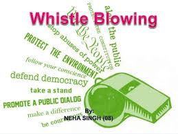 Segnalazioni di illecito – whistleblowe